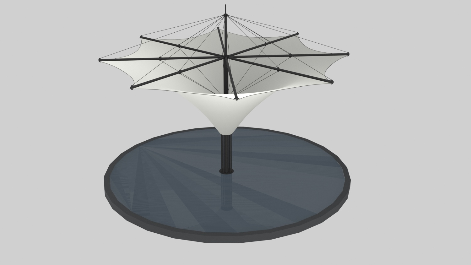 Exclusive Umbrella tent 2
